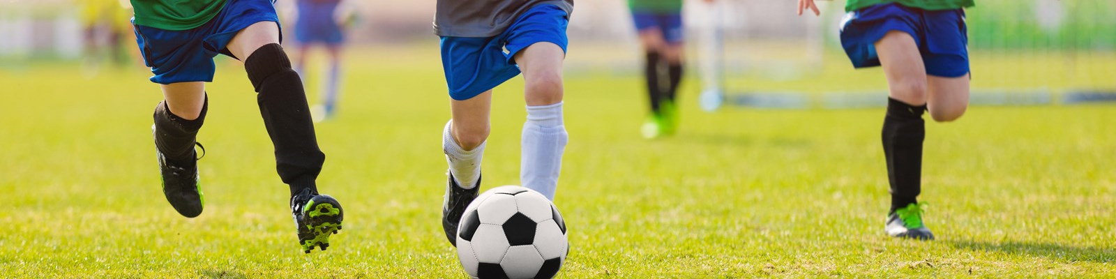 Youth Soccer, Recreational and competitive play soccer programs for kids.