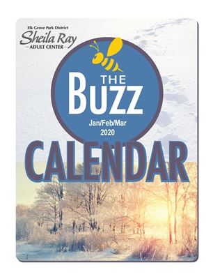 Buzz Calendar | Sheila Ray Adult Center