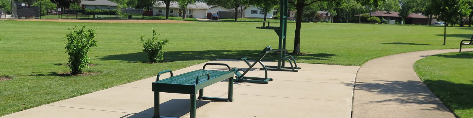 Fairchild Park, Fitness, Fields, Playground and More